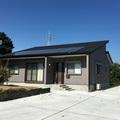 吉田町:32坪の平屋建て、ロフト付き、太陽光・蓄電池を備えた家、長期優良住宅、静岡県産材