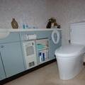 トイレリフォーム リクシル・INAX アメージュZA+PASSO 自動洗浄付